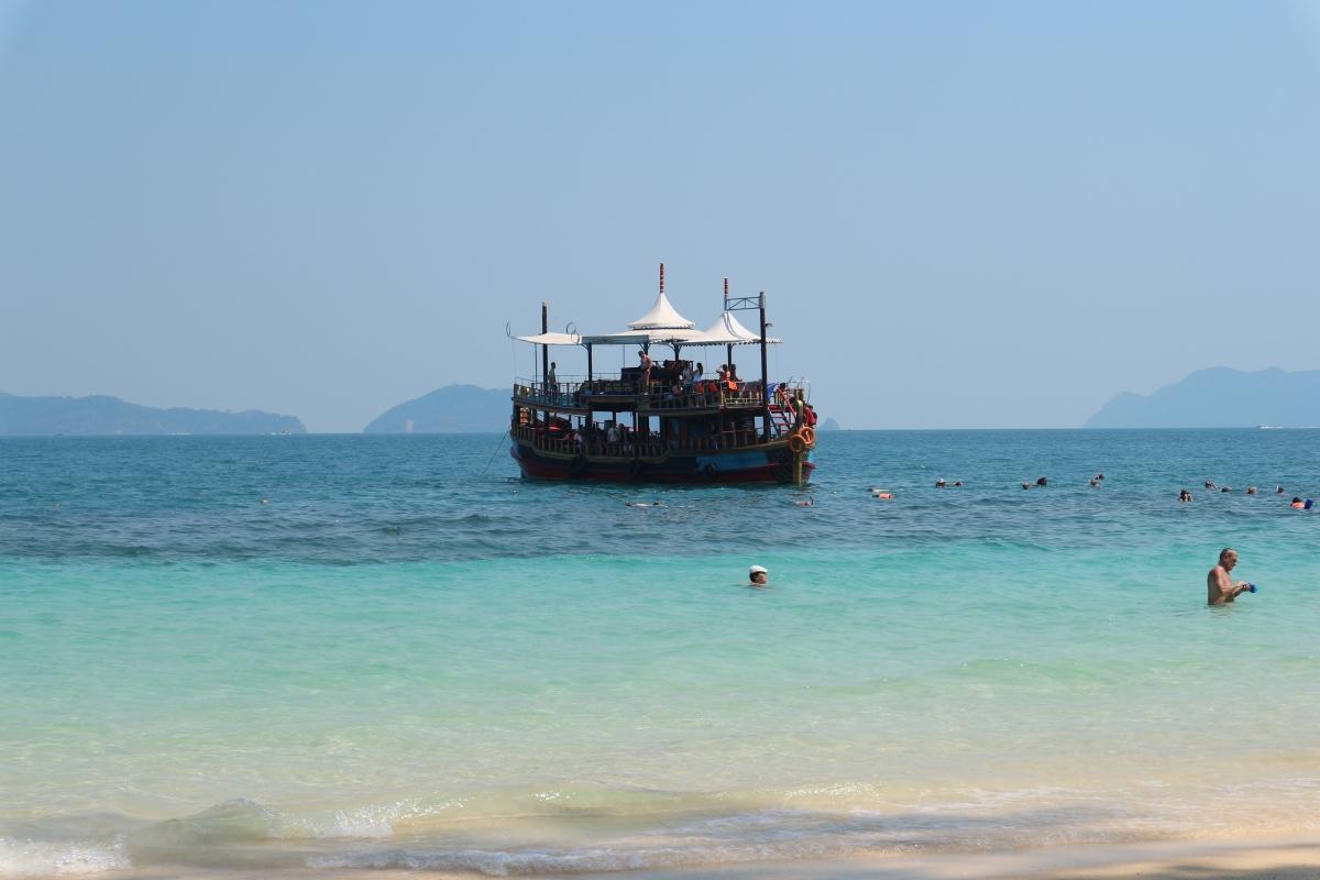Tajski raj na Koh Wai.                           Wyspa bez internetu.